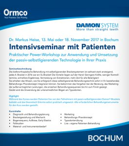 Intensivseminar mit Patienten 2017
