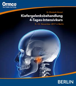 Kiefergelenksbehandlung 4-Tages-Intensivkurs Berlin – AUSGEBUCHT –
