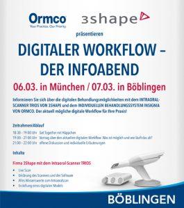 Digitaler Workflow – der Infoabend in Böblingen