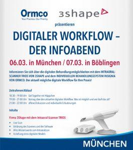 Digitaler Workflow – der Infoabend in München