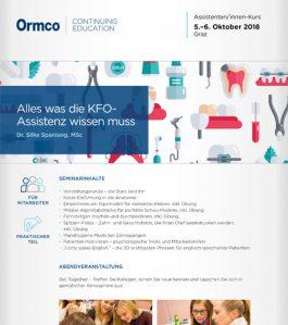 Alles was die KFO-Assistenz wissen muss