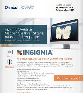 Insignia-Webinar – Machen Sie Ihre Mittagspause zur Lernpause!