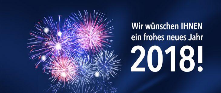 Ormco wünscht Ihnen ein erfolgreiches und gesundes neues Jahr 2018 ...